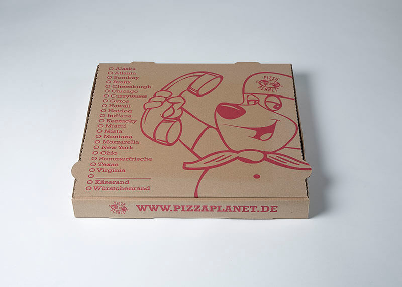 Pizzakarton big medium groß large