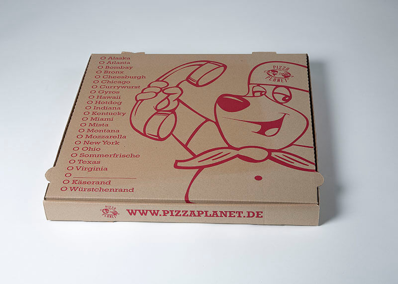 Pizzakarton family extra-large jumbo XL